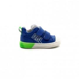 Chaussures Montantes Bébé Garçon Velcros Romagnoli 1181 Rhardrock