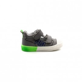 Chaussures Montantes Découpées Garçon Velcros Romagnoli 1182 Rharpiste