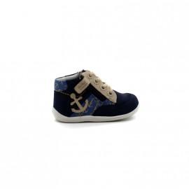 Chaussures Montantes Bébé Garçon Kickers Bigou