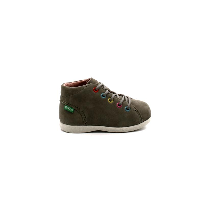 usine authentique fc555 2d64d Chaussures Montantes Bébé Kickers Babystad