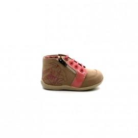 Chaussures Montantes Bébé Fille Kickers Boucan