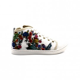 Chaussures Montantes Fille 10is Ten Happy Lace Print