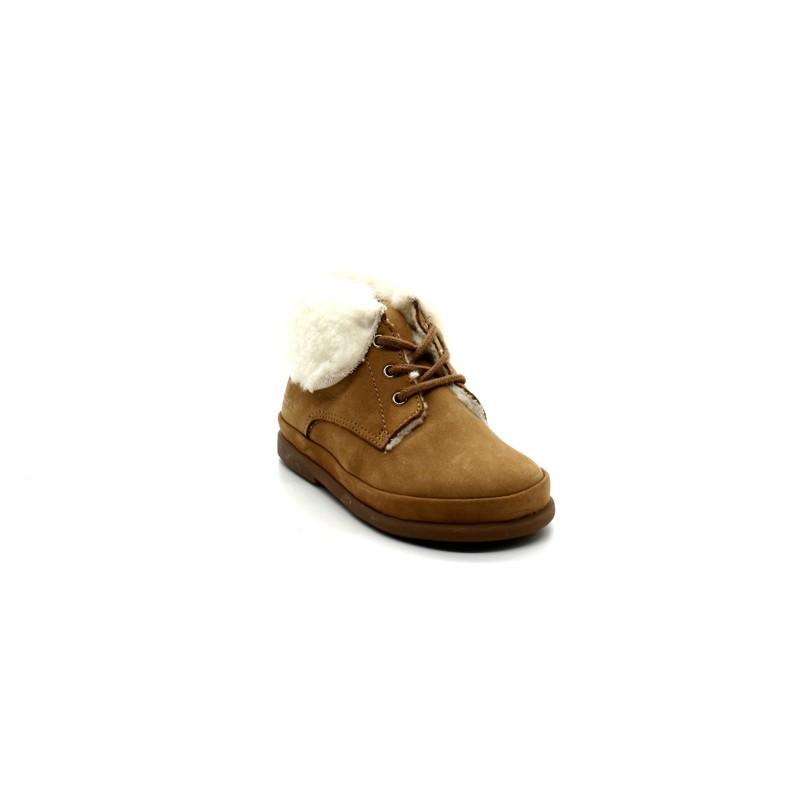 322292fd636a9 Chaussures Montantes Fourrées Pom D Api Fanfan Fur Sheepwoo