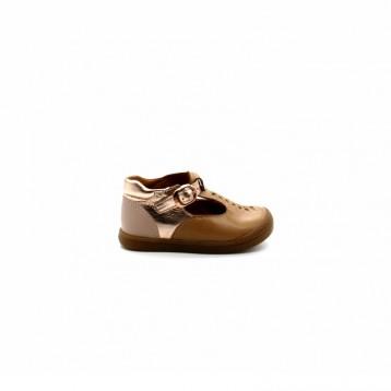 Chaussures Montantes Découpées Bébé Fille Babybotte Pirouette
