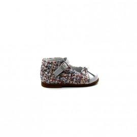 Chaussures Montantes Découpées Bébé Fille Beberlis Béatrice 20702