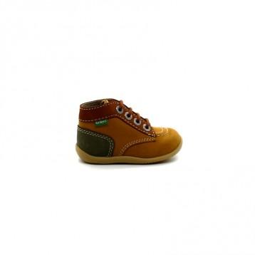 Chaussures Montantes Bébé Garçon Kickers Bonbon