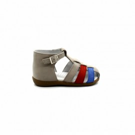 Chaussures Montantes Découpées Nu-Pieds Garçon Beberlis Benoit