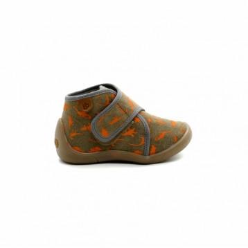 f85af333ee614 Chaussons Bébé Velcro Babybotte Malibu - PitShoes