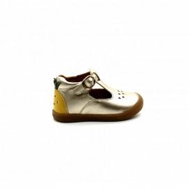 e709d2b25e654 Chaussures Montantes Découpées Fille Babybotte Papaya