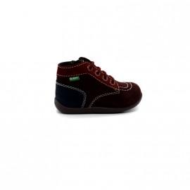 Chaussures Bébé Fille Kickers Bonzip
