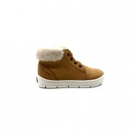 Chaussures Fourrées Garçon Pom D'Api Start Top Fur