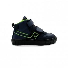 Chaussures Montantes Velcros Garçon Romagnoli Rantireflet