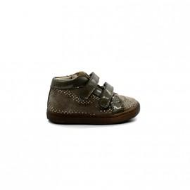 Chaussures Montantes Bébé Fille Velcros Beberlis Betatou