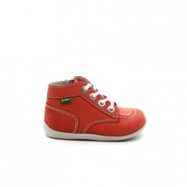 Chaussures Montantes Bébé Fille Kickers Bonzip
