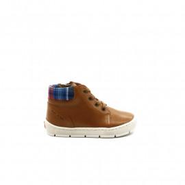 Chaussures Montantes Garçon Pom D'Api Start Top Oxford