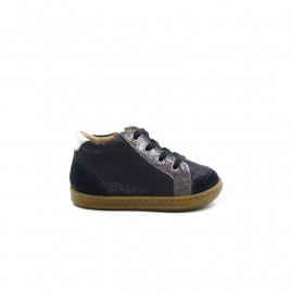 Chaussures Montantes Bébé Fille Shoo Pom Bouba Zip Box Glitter
