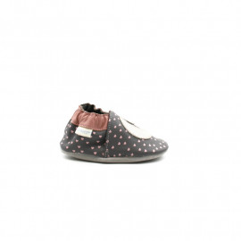 Chaussons Cuir Souple FIlle Robeez Fairy