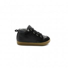 Chaussures Montantes Bébé Garçon Shoo Pom Bouba Zip Wool