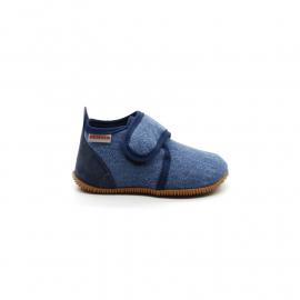 Chaussons Garçon Coton Giesswein Strass Jeans
