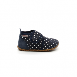 Chaussons Enfant Coton Giesswein Stans