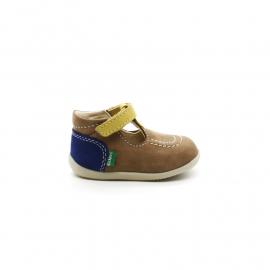 Chaussures Montantes Découpées Bébé Garçon Kickers Bonbek